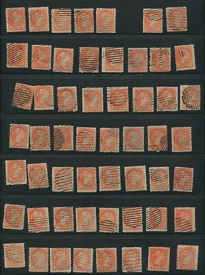 Canada #37/41 Used Small Queen Wholesale Lot