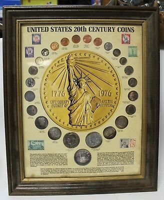 20Th Century Coin 24 Coin Set Collection With Holder