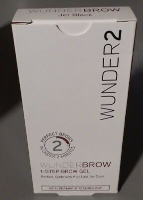 Wunder2 Wunderbrow 1-Step Brow Gel (Jet Black)