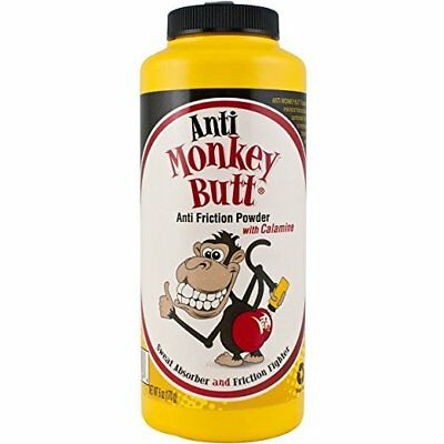 Anti Monkey Butt Anti Friction Powder w/ Calamine, 6 oz (4 Pack)
