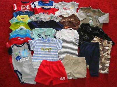 Huge Lot Boys Summer Clothes Outfits Old Navy Gap Gymboree Wardrobe Size 6-9 Mo.