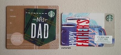 Starbucks Card 2018 Father's Day Dad