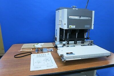 FilePecker IV 3 Spindle Hole Paper Drill / Punch FP4-60  Challenge Baum Yale