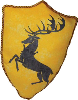 Game of Thrones - Baratheon Sigil Throw Pillow-FAC408523