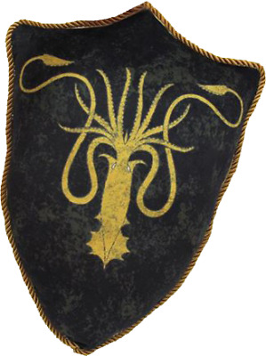 Game of Thrones - Greyjoy Sigil Throw Pillow-FAC408521