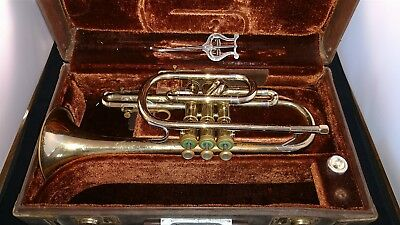 Coronet Olds Ambassador Vincent Bach Mouthpiece Original Case