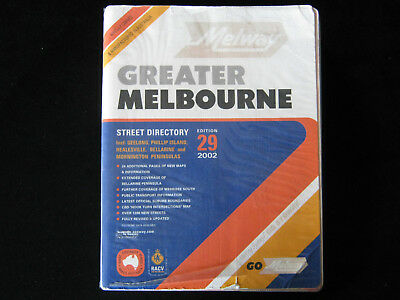 Melway Greater Melbourne Street Directory 2002 Edition 29