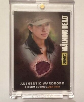 M41 Christian Serratos Authentic Wardrobe The Walking Dead Season 4 Part 2