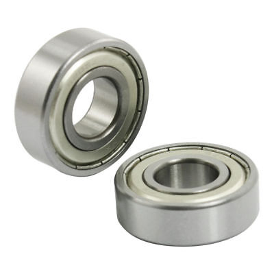 5 Pcs 6202Z Metal Shielded 15mm x 35mm x 11mm Deep Groove Ball Bearing