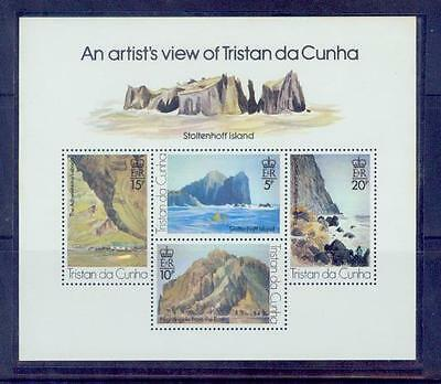cunha/an artist^s view of tristan  /mnh.good condition