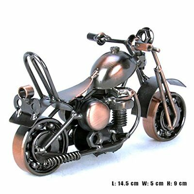 Handmade Bronze Retro Classic Motorcycle Model Motorcycle Decor Collectible Art