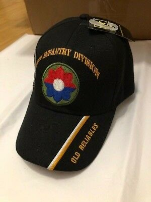 3e86ffc6f44 US ARMY 24TH INFANTRY DIVISION BALL CAP MILITARY HAT BIN 3 -  19.99 ...