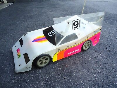 VINTAGE TEAM LOSI JRx2 1/10 RC Buggy Car w/ JG Dirt Oval Track Conversion