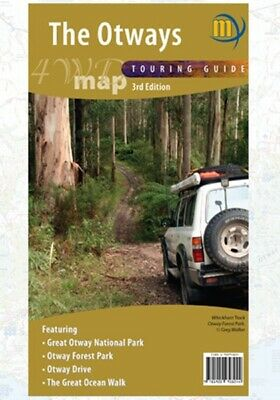 Meridian Maps The Otways 4WD Map 3th Ed Touring Guide