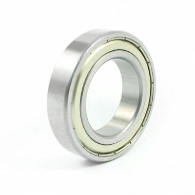 40mmx68mmx15mm Metallic Sealed 6008Z Deep Groove Ball Bearings