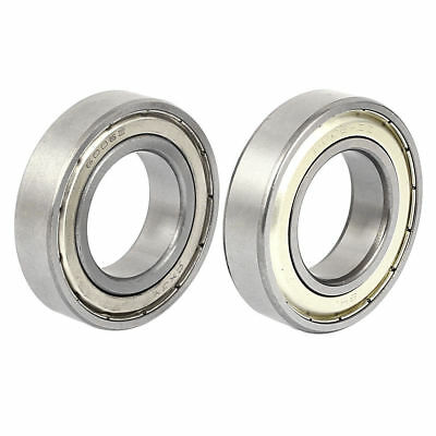 2pcs 30mmx55mmx13mm Double Shielded Radial Deep Groove Ball Bearings 6006Z