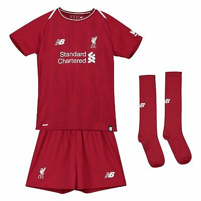 Official Liverpool Home Infant Kit 2018-19 New Balance Football