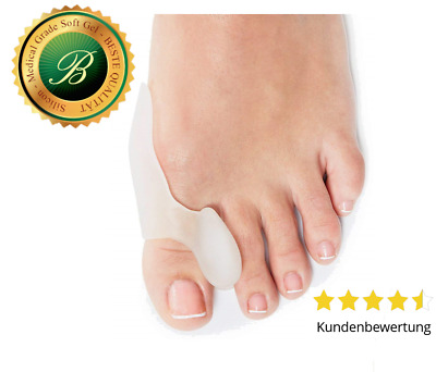 Original Halluxwonder (2Paar) aus Medical Grade Soft Gel - (Hallux wonder)