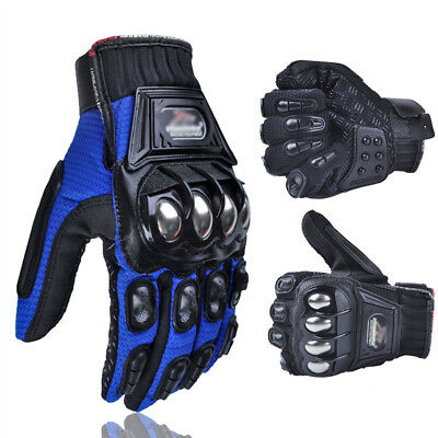 Motorcycle Armoured Motorbike Gloves Motocross Protect Biker UK