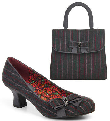 75ea48a78ca24 RUBY SHOO MADISON High Heel Court Shoe & Matching Turin Bag UK3-9 36 ...