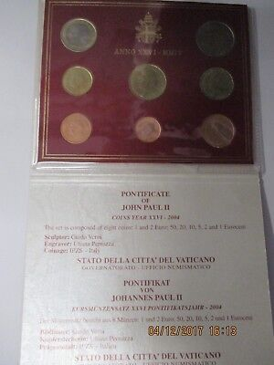 VATICANO SERIE DIVISIONALE 2004 PROOF 12.373n PROOF
