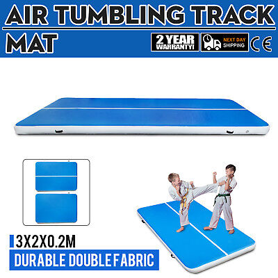 2X3m AirTrack Inflatable Air Track Tumbling Floor Home Gymnastics Yoga Mat GYM