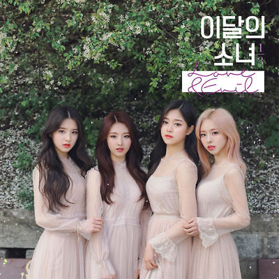 MONTHLY GIRL 1/3 LOONA - LOVE & EVIL [Normal ver] CD+Photocard+Tracking no.