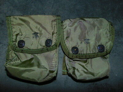 2X Us Army First Aid Kit Individual Pouch  Vietnam Alice Erste Hilfe Tasche