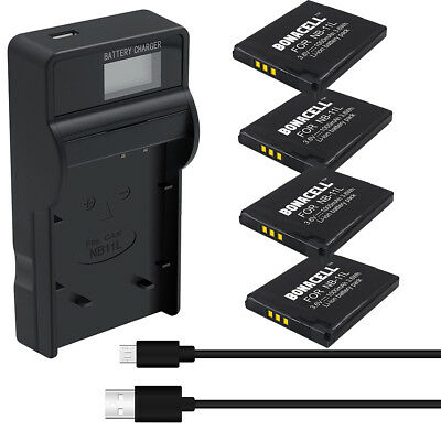 NB-11L NB11LH Battery or Charger for Canon PowerShot ELPH 110 HS A2300 A2500 SK