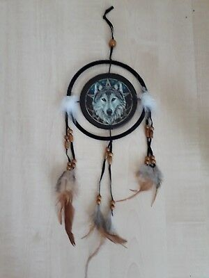 NEW WOLF HEAD Dream Catcher By Lisa Parker 40 Cm Dreamcatcher Beauteous Wolf Head Dream Catcher