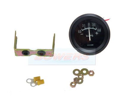 Classic Mini Ammeter 60-60 Guage Gauge 52Mm Electrical Dashboard Illuminated
