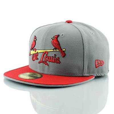 New Era St. Louis Cardinals Jersey Logo 59FIFTY Fitted MLB Cap