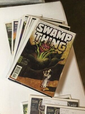 Swamp Thing. 1 2 3 9-19 21 22 24 Signed 25-28 Vf Or Better