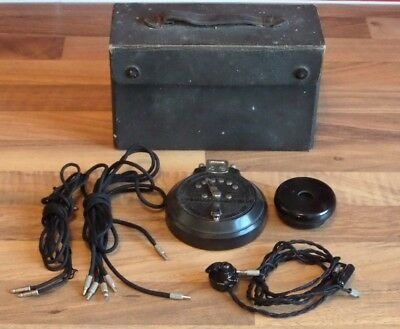 Antique General Acoustic Co. Acousticon Hearing Aid