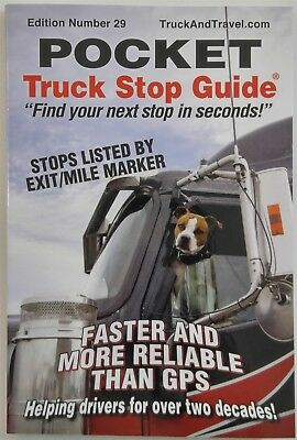 2019 Truck & Travel Truck Stop Guide - Over 6000 Parkable Spots and Rest Areas