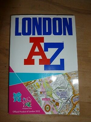 London 2012 Street Atlas by Geographers' A-Z Map Company (Paperback, 2011)