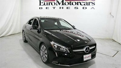 Mercedes-Benz CLA CLA 250 4MATIC Coupe mercedes benz cla250 cla 4matic awd black 17 18 used navigation blind spot coupe
