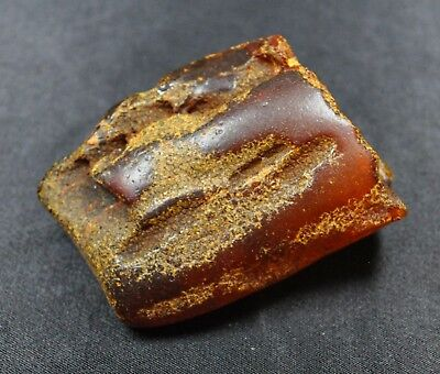 56+g Egg Yolk Baltic Amber Stone Nice Real Natural Genuine Antique Old Bernstein
