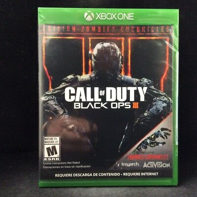 Call of Duty: Black Ops III Zombies Chronicles Edition (Xbox One) LATAM Ver./NEW