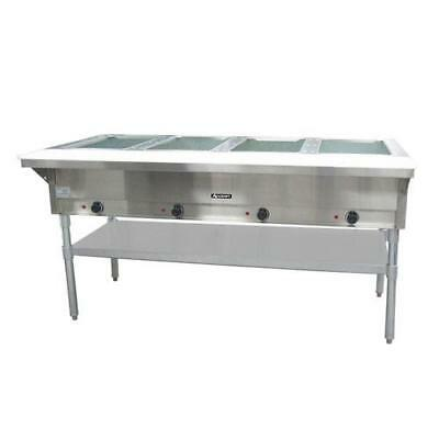 "Adcraft - ST-240/4 - 63"" Steam Table 4 Well Hot Food Warmer"