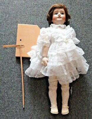 Antique Simon Halbig For Heinrich Handwerck Germany Bisque Porclain Doll 29 1/2""