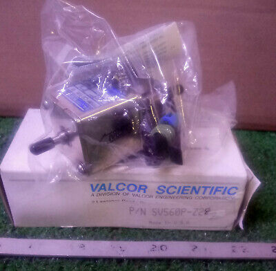 1 New Valcor Scientific Sv560P-Z28 Precision Metering Pump Nib ***Make Offer***