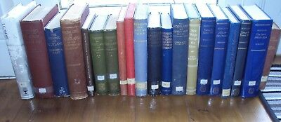 Good Collection Of 20 Antique/vintage Books Related To Scotland
