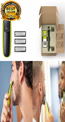 Philips Norelco OneBlade Hybrid Electric Trimmer Shaver Rechargeable One Blade