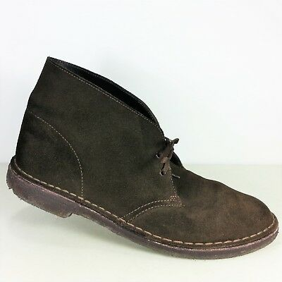 6f21d27c27066 Clarks Original Desert Boots Mens Dark Brown Suede Ankle Boots Shoes Size  11 US
