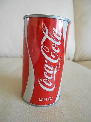Coca Cola CAN, 12 Fl. Oz. Coin BANK, EUC, Great Decor Accent Piece/Coin Bank!