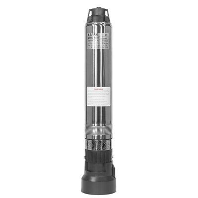 """Stainless Submersible Pump 4"""" Deep bore Well 1.1HP, 110V, 33 GPM 200 ft MAX new"""