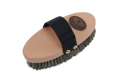 Kincade Wooden Deluxe Body Brush Natural