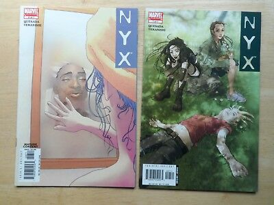 NYX # 6 + 7 ~ Marvel Comics