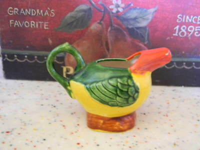 Vintage Child's Bird Teapot * No Lid *